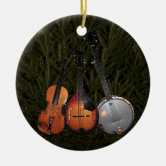 Bluegrass Christmas Tree Christmas Ornament