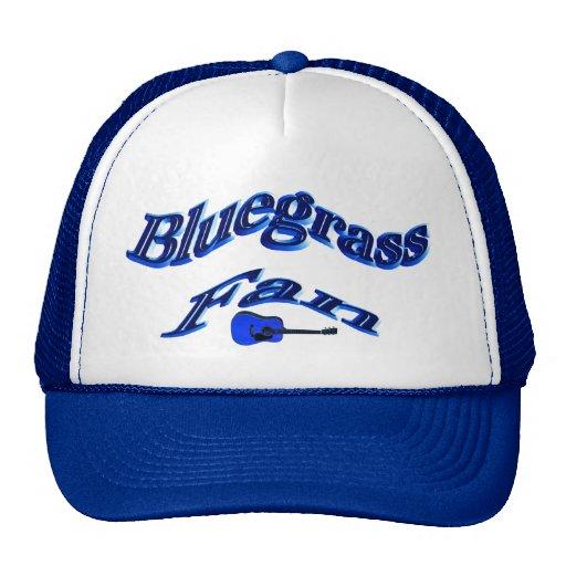 Bluegrass Fan-Hat-with Guitar