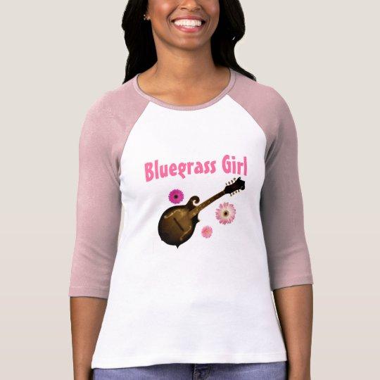 """""""Bluegrass Girl"""" Jersey T~shirt SIZE: Large (PINK) T-Shirt"""