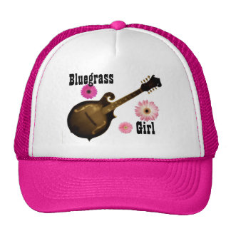 Bluegrass Girl Trucker Hat (PINK)