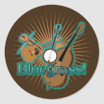 Bluegrass Instruments Round Sticker