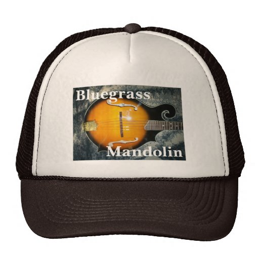 """Bluegrass Mandolin"" Trucker Hat"