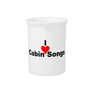 Bluegrass Music - I Heart Cabin Songs Pitchers