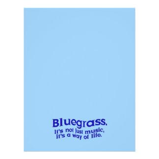 Bluegrass: Not Just Music, a Way of Life Custom Flyer