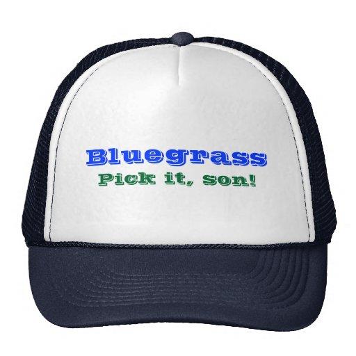 Bluegrass: Pick it, Son! Mesh Hats