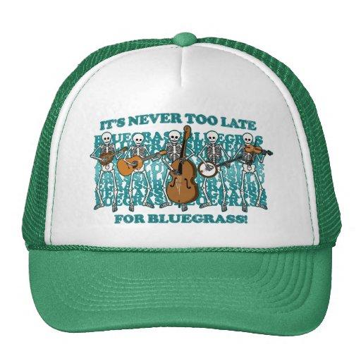 Bluegrass Skeletons Trucker Hats