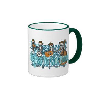Bluegrass To The Bone! Coffee Mugs