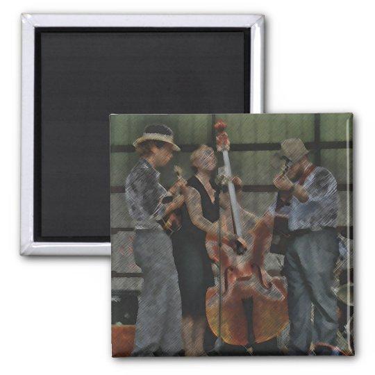 Bluegrass Trio Magnet