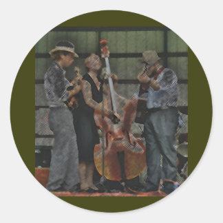 Bluegrass Trio Sticker