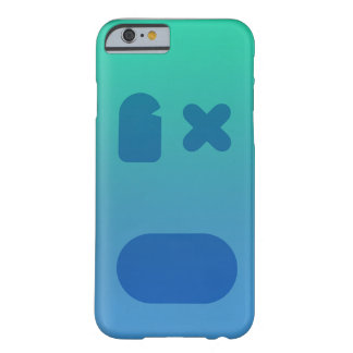 Bluegreen PhoneCase Barely There iPhone 6 Case