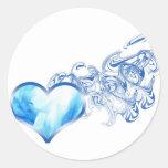 blueheart-w-smoke sticker