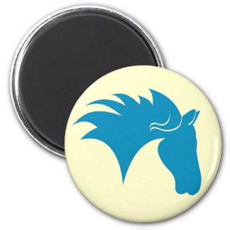 BlueHorse 6 Cm Round Magnet