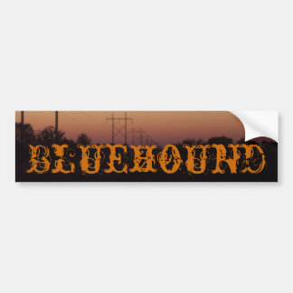 Bluehound Bumper Bumper Sticker