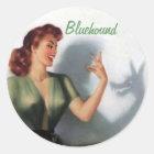 Bluehound Shaddow Sticker