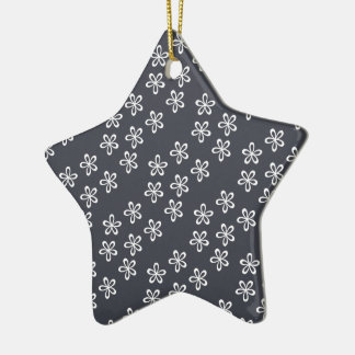 Blueish Gray Is The New Gray Ceramic Star Decoration