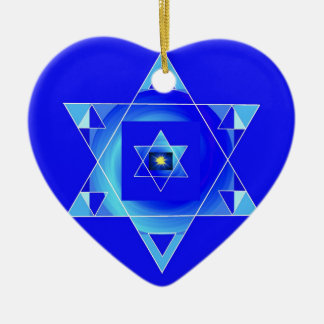 Blueish illusion. christmas ornament