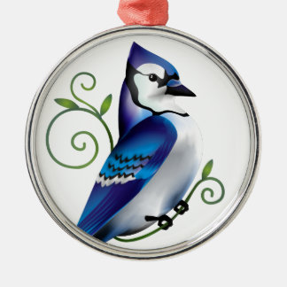 Bluejay Day Christmas Ornament