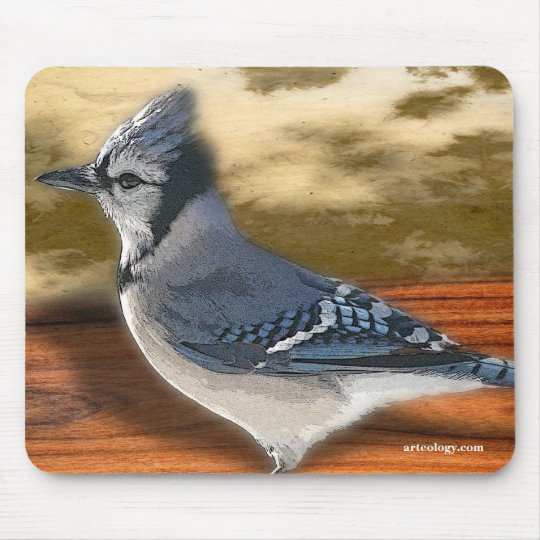 BLUEJAY MOUSE MAT