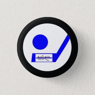 Blueliner Hockey Retro Badge