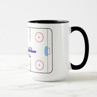blueliner rink mug