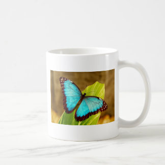 blueMorphoZ.jpg Basic White Mug