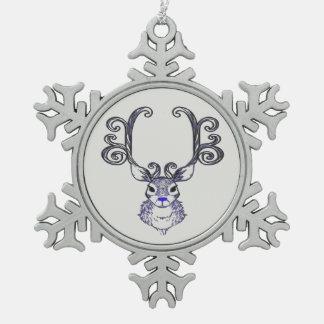 Bluenoser Blue nose Reindeer cute ornament