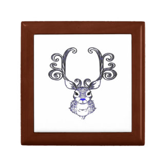 Bluenoser Blue nose Reindeer deer gift box