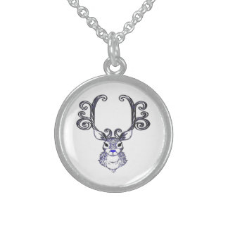 Bluenoser Blue nose Reindeer deer necklace