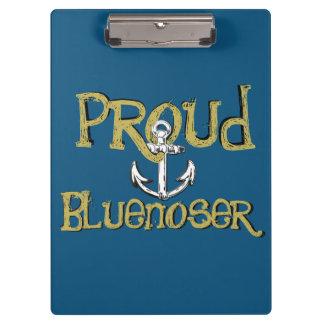 Bluenoser Nova Scotia anchor clip board blue