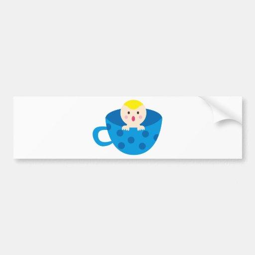 BluePABooP6 Bumper Sticker