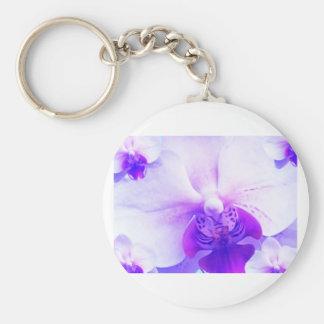 Bluepansy Basic Round Button Key Ring
