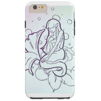 Blueprint mermaids tough iPhone 6 plus case