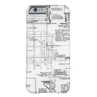 Blueprints Barely There iPhone 6 Case
