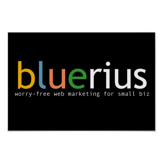 bluerius.com banner poster