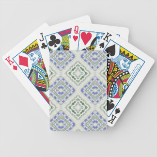 Blues and Greys Bicycle Playing Cards