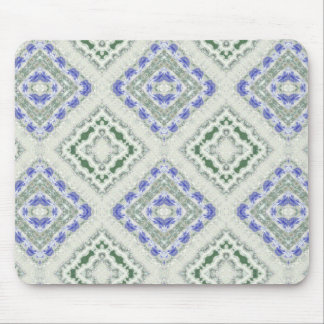 Blues and Greys Mouse Mat