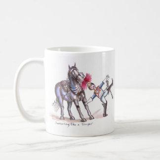 Blues and Royals funny cartoon mug