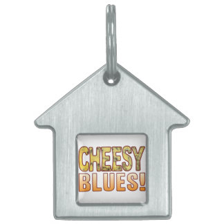 Blues Blue Cheese Pet Tags