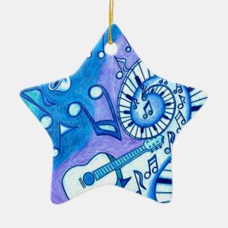 Blues Christmas Ornament