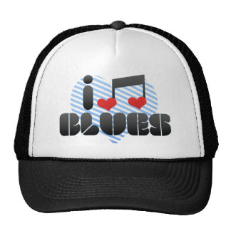 Blues fan hat