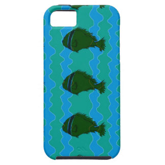 Blues fish iPhone 5 covers