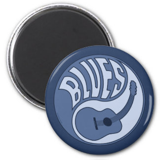 Blues Guitar Yin Magnet Magnet
