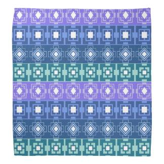Blues Hip Aztec Pattern Bandana