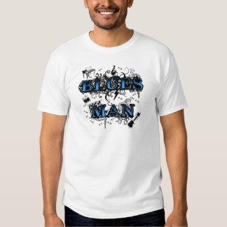Blues man blues t-shirts