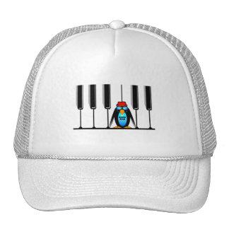 blues man piano cap