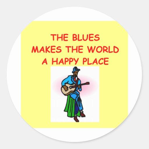 blues music sticker