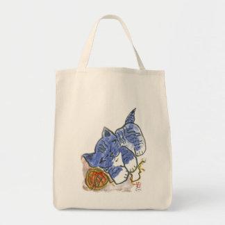 Blue's Nap Canvas Bags