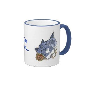 Blue's Nap with Yarn Ball Pillow Ringer Mug