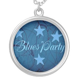 Blues Party Necklaces
