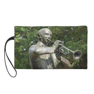 Blues Player Statue Wristlets